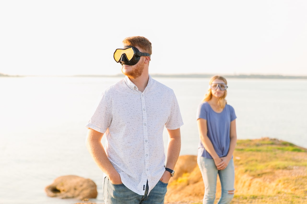 Lake Grapevine Engagement Session
