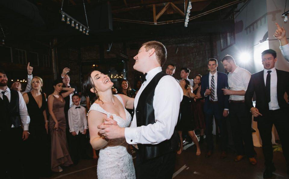 Highland Park United Methodist Church & Four Corners Brewing Wedding